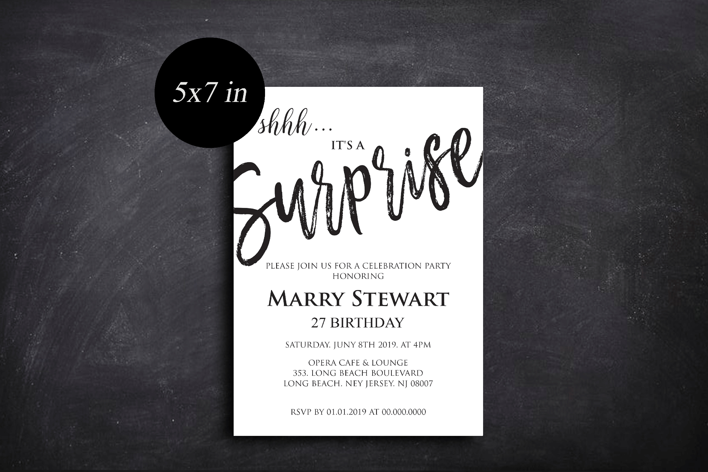 Birthday Invitations, Birthday Invitations Template example image 5
