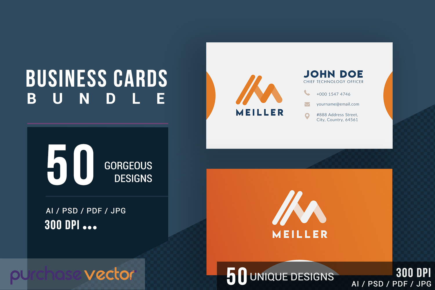 Professional Business Cards Templates example image 2