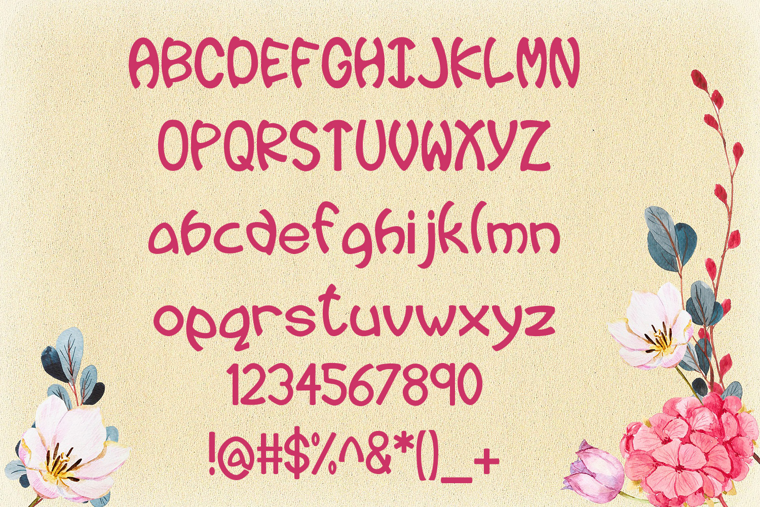 EP Wiggle - Wiggly Font example image 2