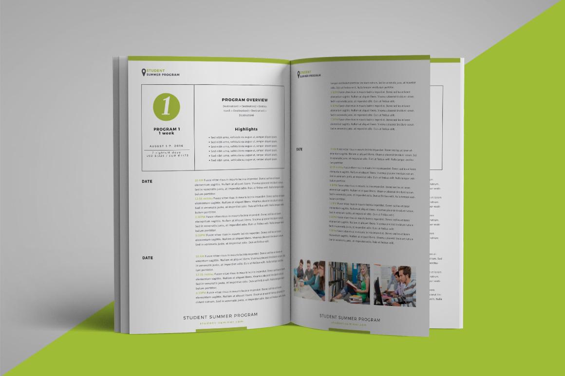 School program brochure example image 4