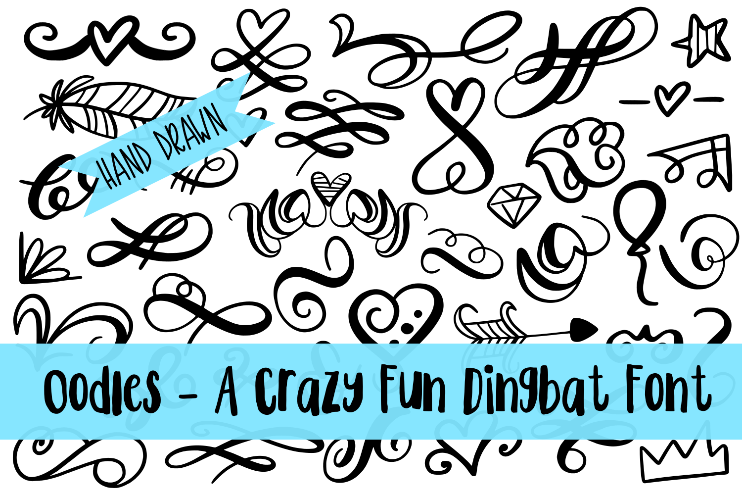 My Favorite Fonts - Crazy Good Deal! - 17 fonts! example image 13