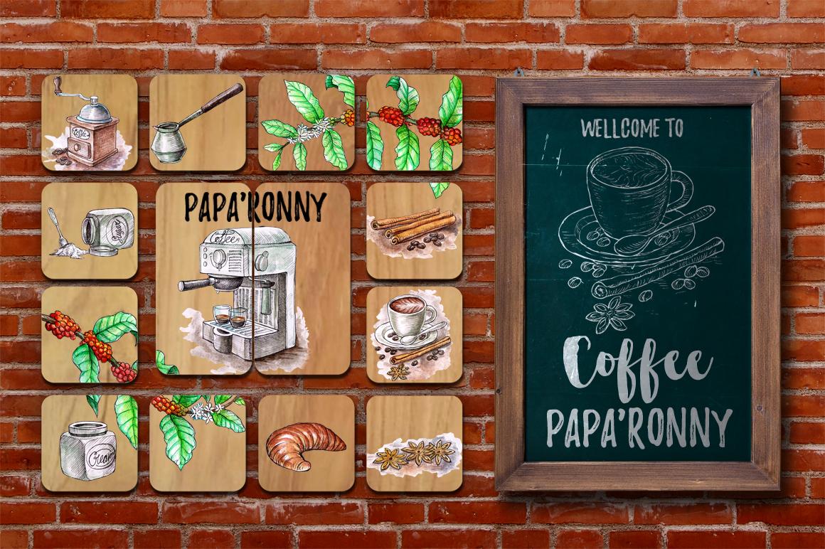 Watercolor Coffee Break example image 6