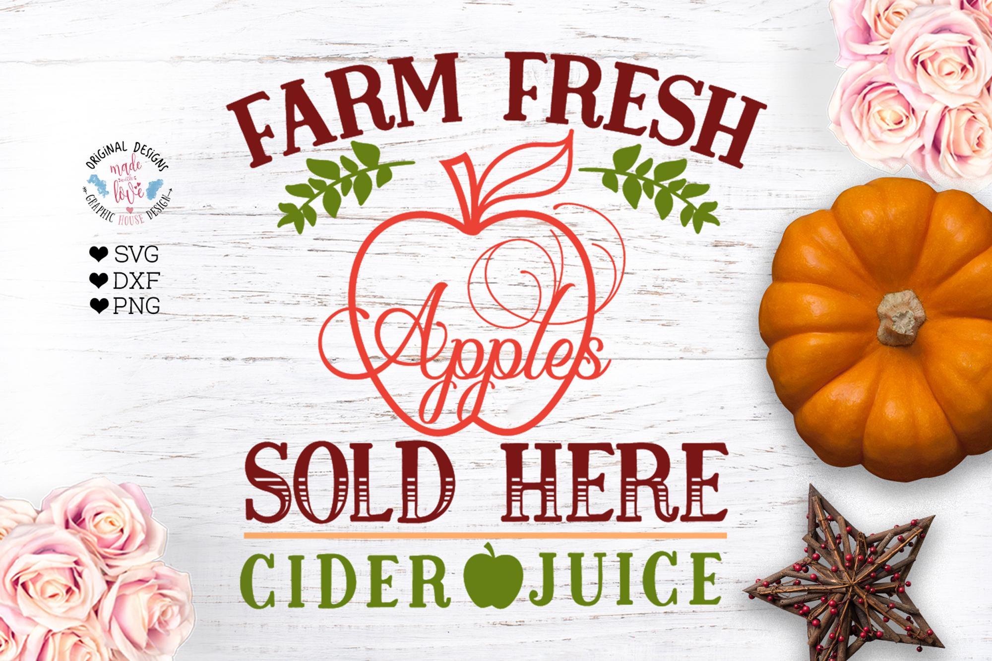 Farm Fresh Apple - Farm Sign example image 1