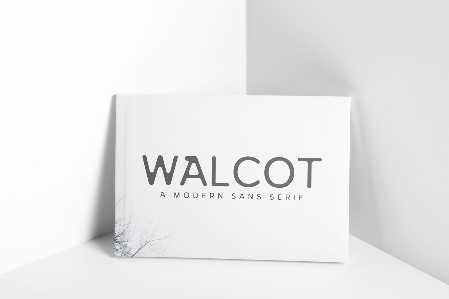 Walcot Modern Sans Serif Font example image 6