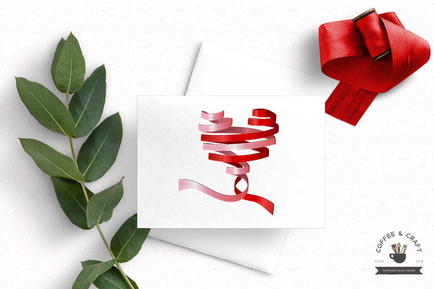 Heart ribbons example image 3
