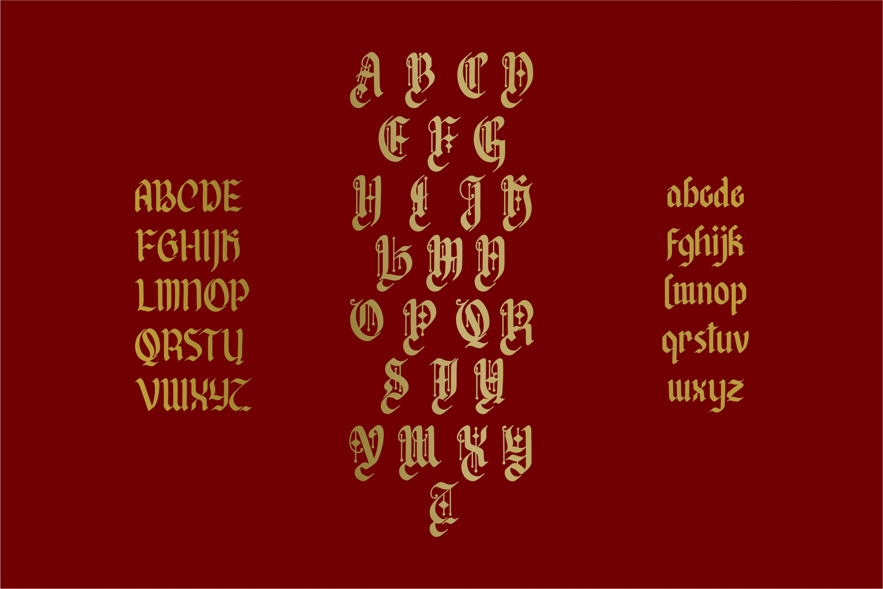 Afterkilly - New Blackletter example image 5