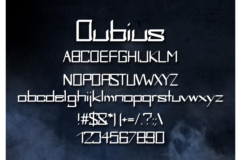 Dubius Neo Gothic Font example image 2