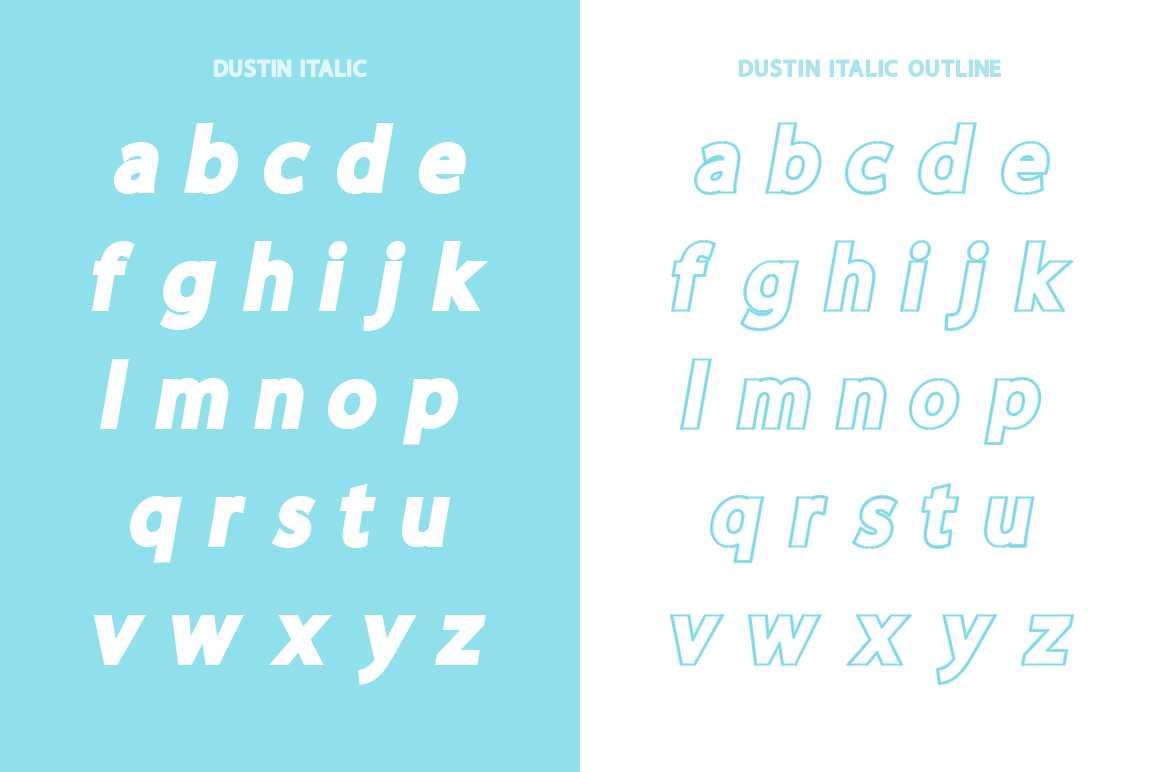 Dustin Font Family example image 11