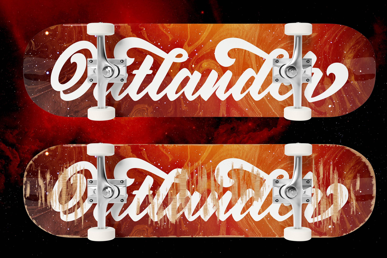 Oatlander - Authentic Bold Script example image 5