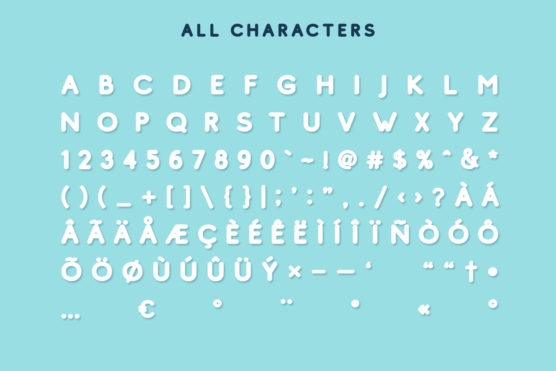 Studly - Layered Font Family example image 5