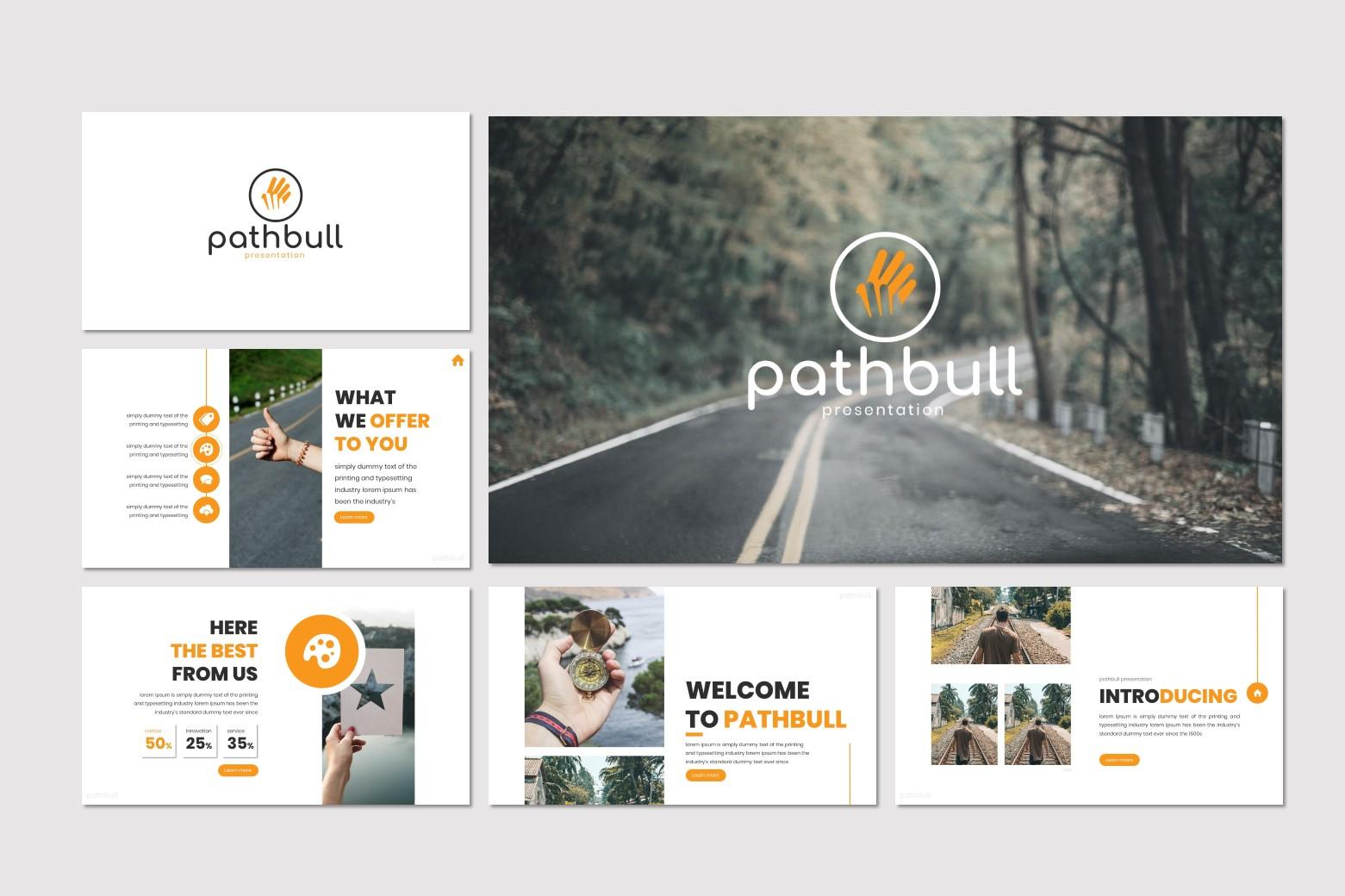 Pathbull- Keynote Template example image 2