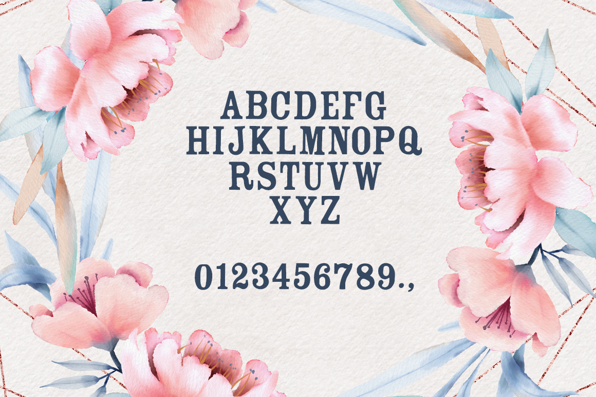 The Floralist Font example image 3