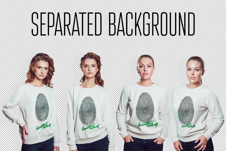 Sweatshirt Mock-Up example image 4