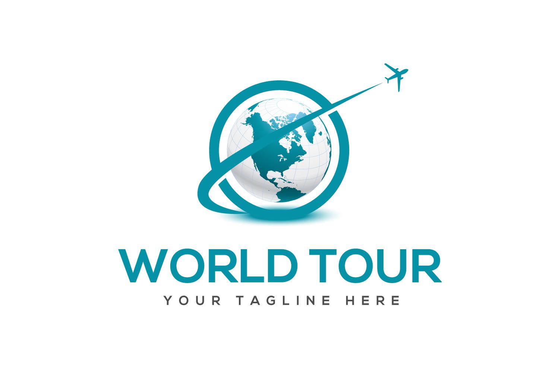 World Tour Travel Company Logo example image 1