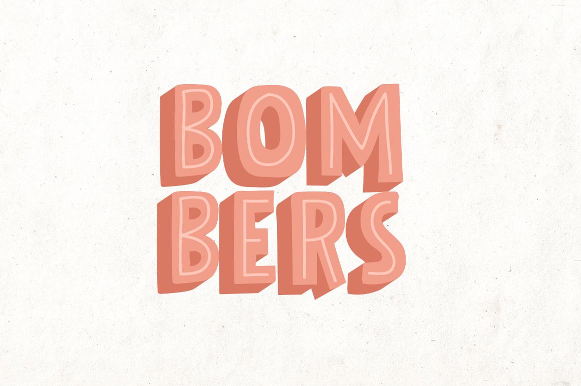 Bolder Typeface example image 4