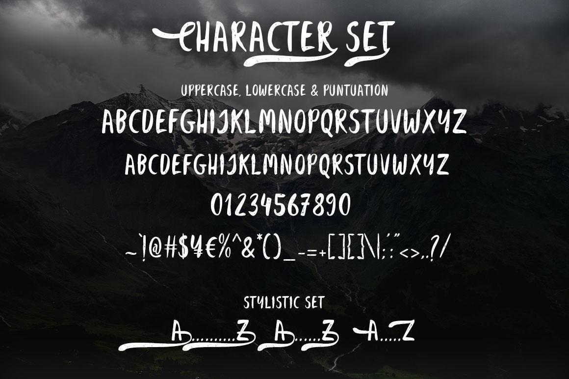 Belissa Brush Font example image 2