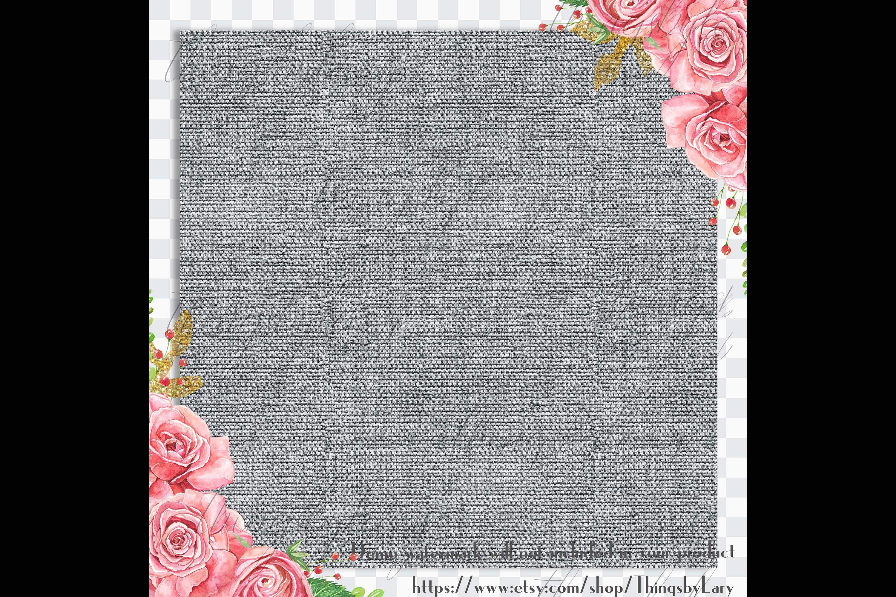 18 Seamless Realistic Neural Linen Burlap Digital Papers example image 3