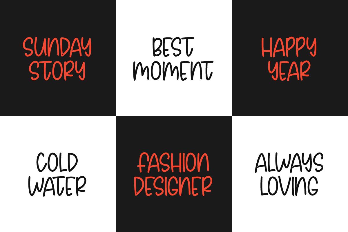 Avoids Dislikes | 3 Handmade Font example image 5
