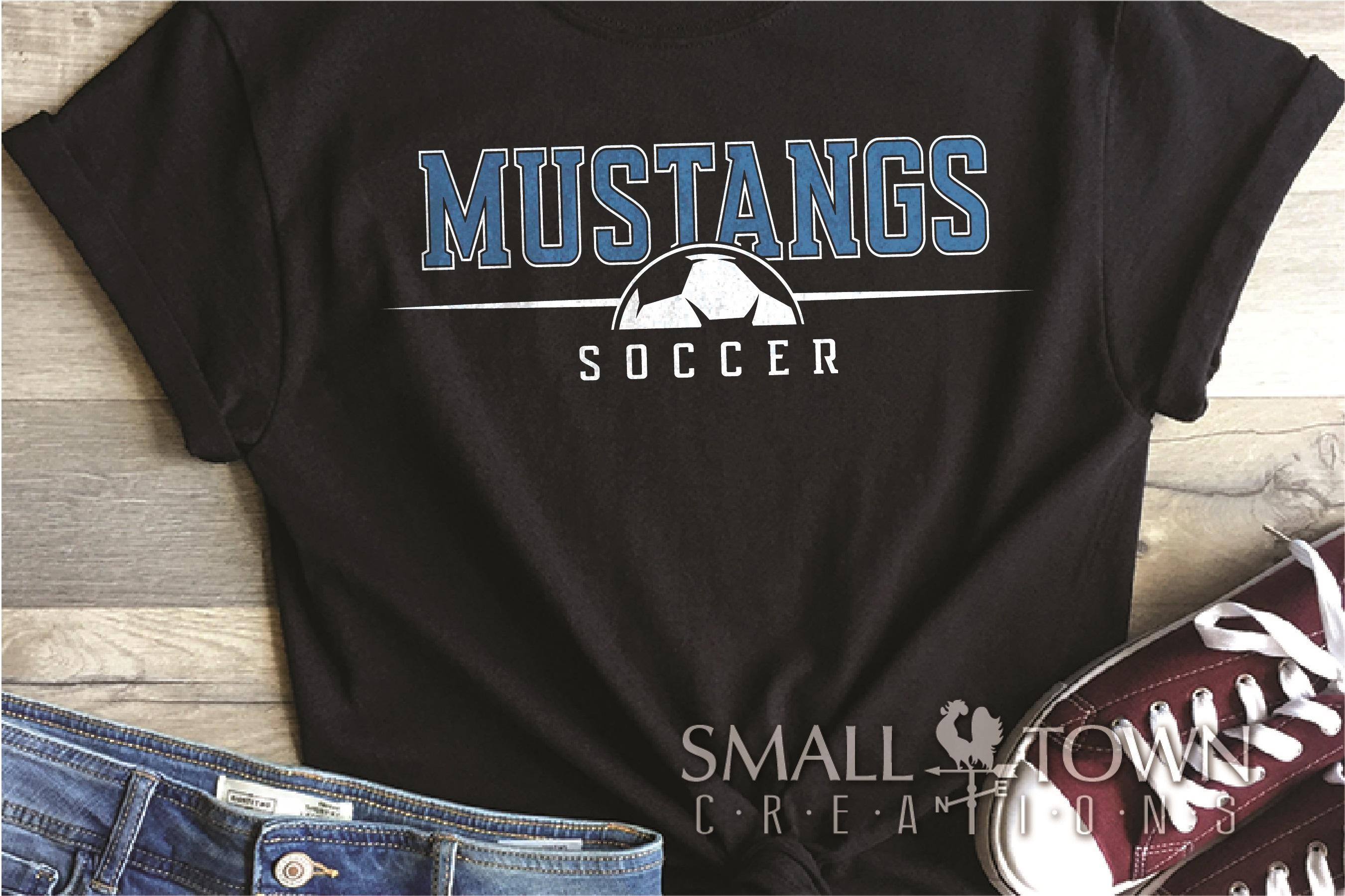 Mustang Sport Bundle, Logo, Team Mascot, PRINT, CUT & DESIGN example image 6