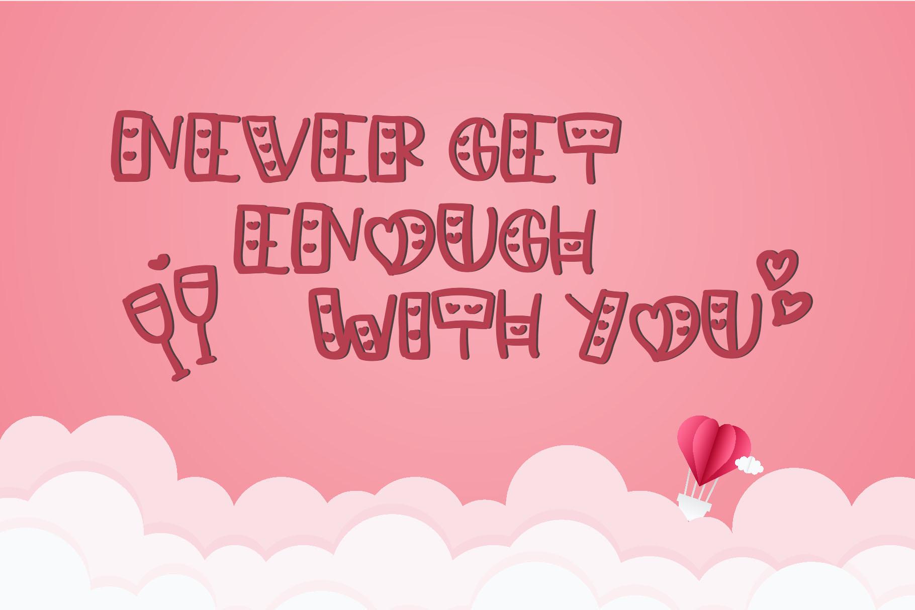 Lovely - Love Handwritten Font example image 5