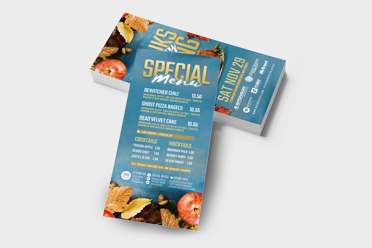 Thanksgiving Flyer Template example image 9
