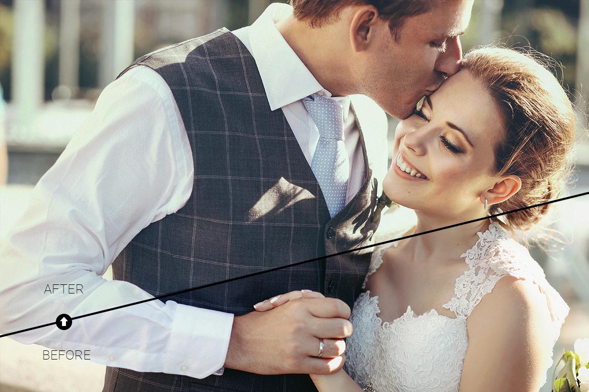 Wedding Day Lightroom Presets example image 6
