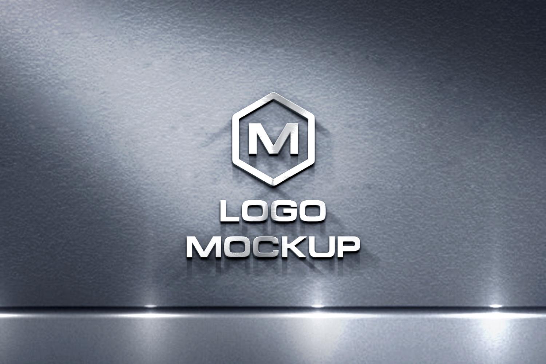 3D Logo Mock-up Bundle example image 13