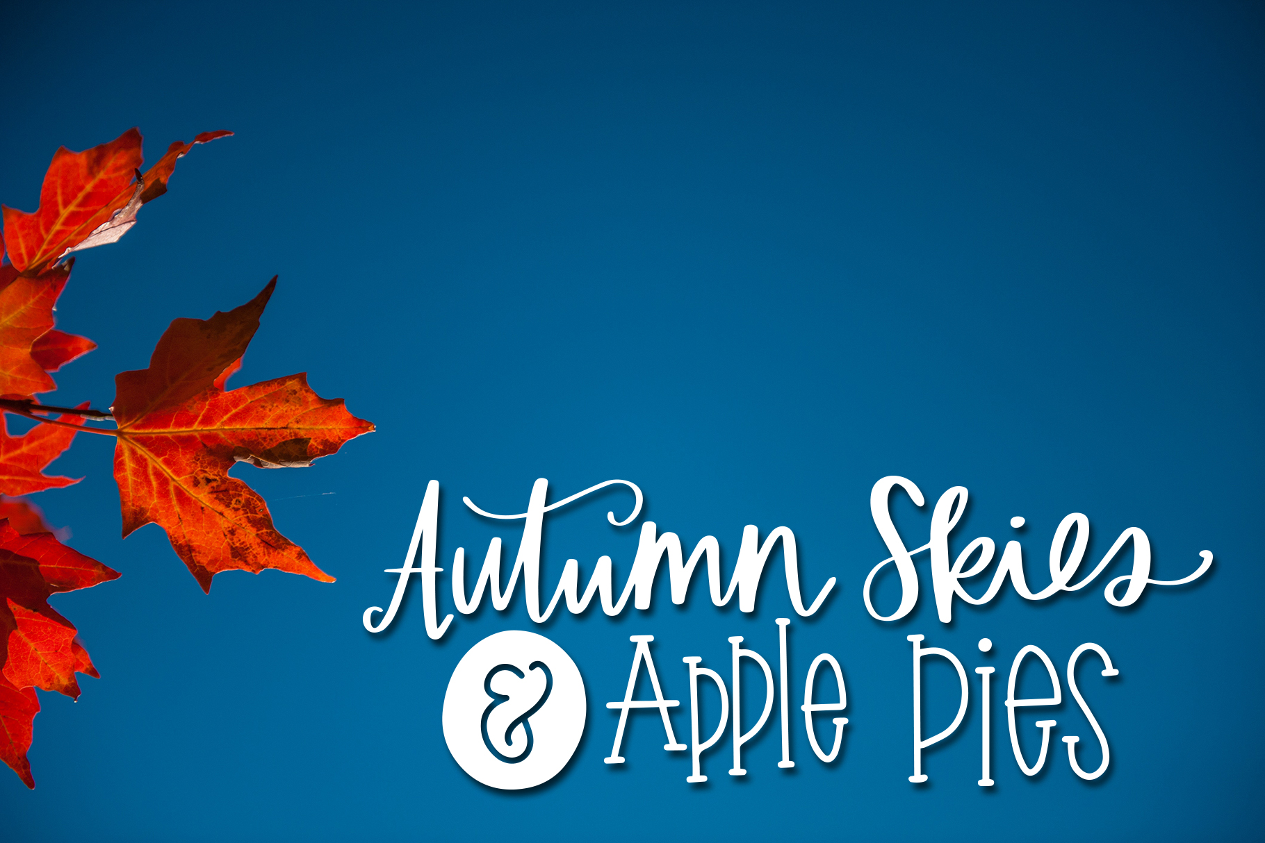 Fall Phrases Symbols Font example image 5