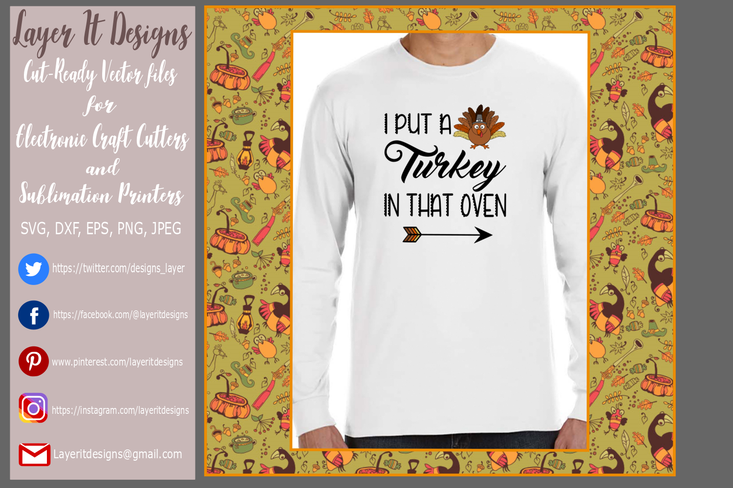 Thanksgiving Pregnancy T shirt Designs example image 2