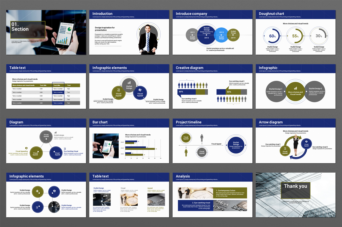 Finance Theme PowerPoint Template example image 2