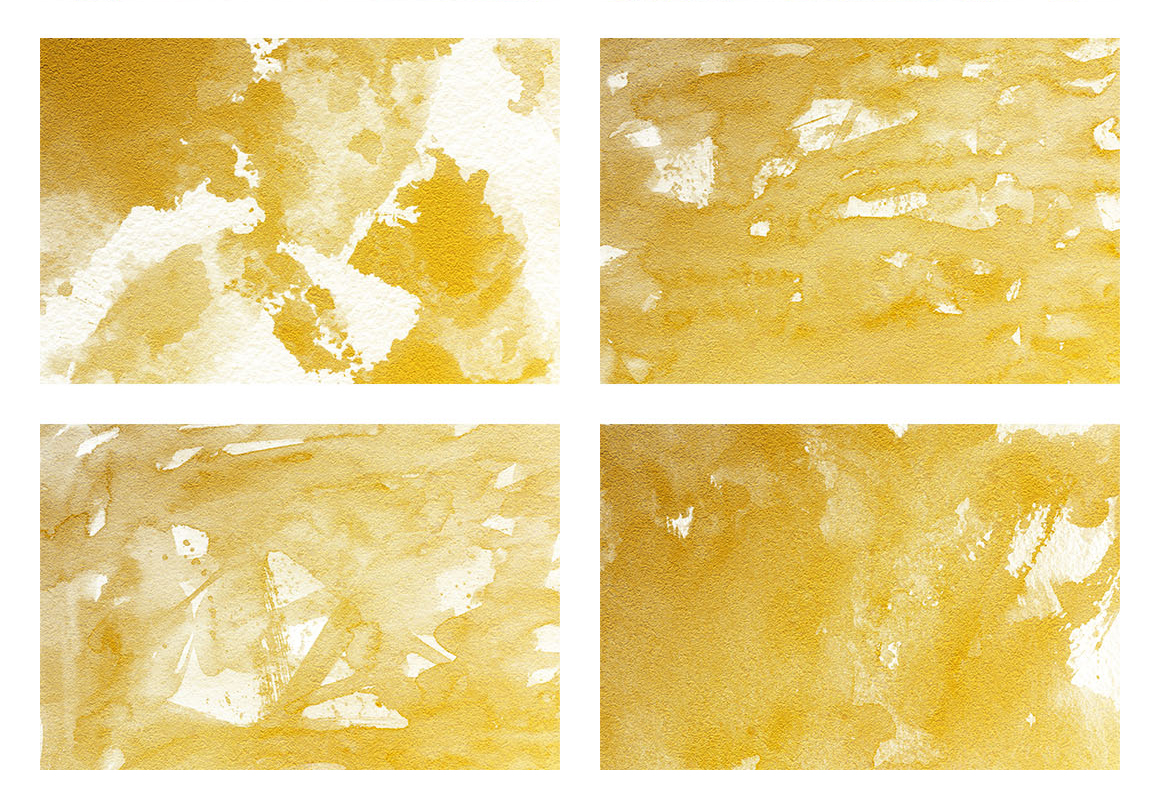 Watercolor Textures White and Gold example image 11