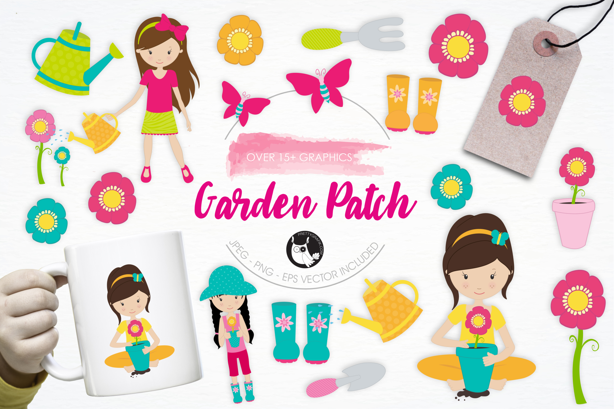 Garden Patch graphics and illustrations example image 1