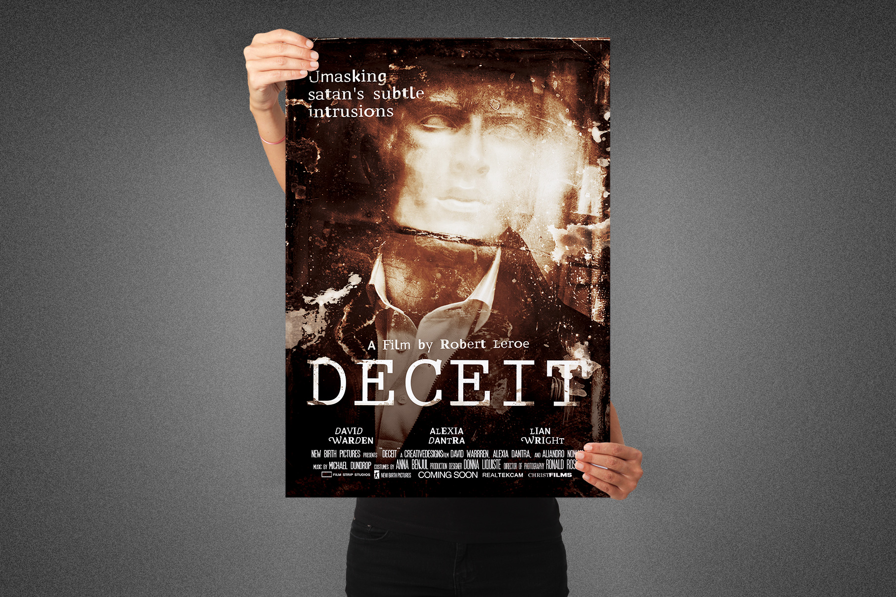 Deceit Movie Poster Template example image 3