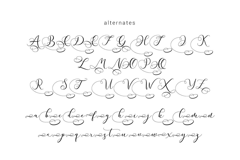 Andieny Script example image 7