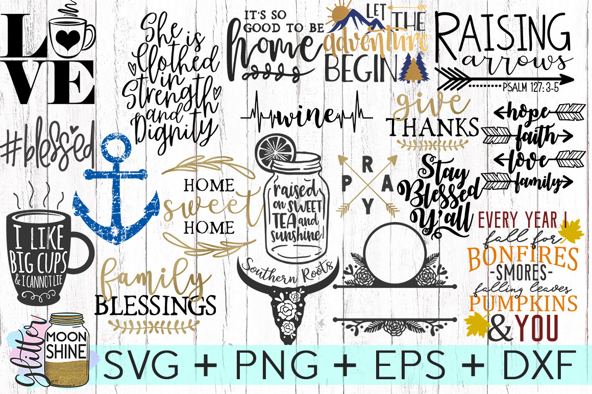 HUGE Sign Making Bundle Of 40 SVG DXF PNG EPS Cutting Files example image 3