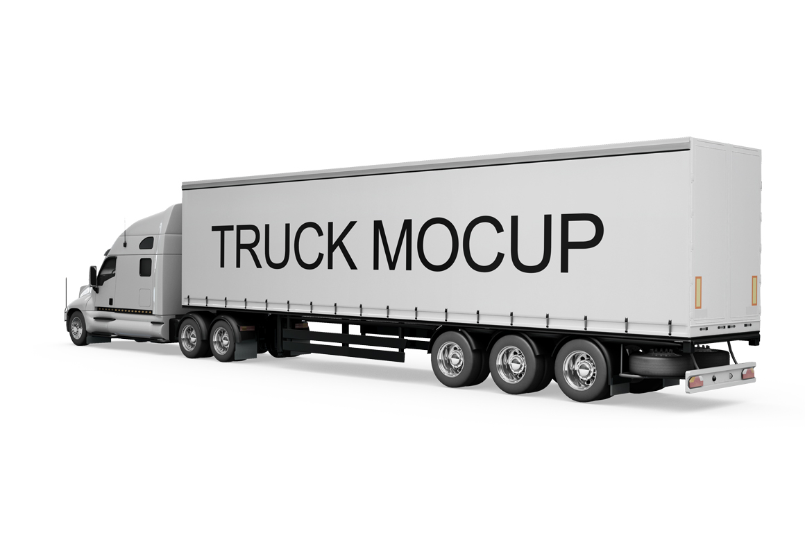 Truck Mockup example image 4