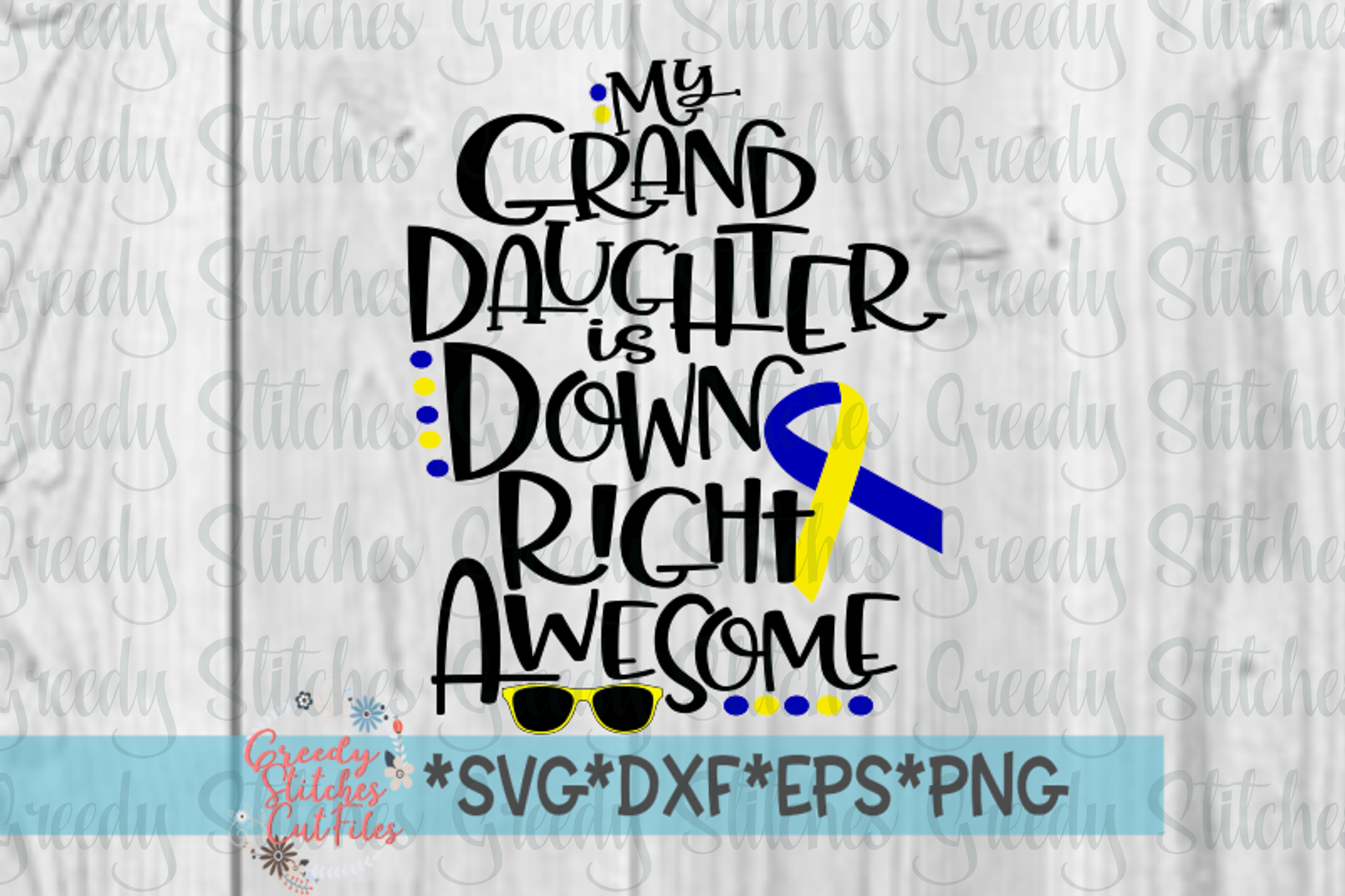 Down Syndrome Awareness SVG example image 3