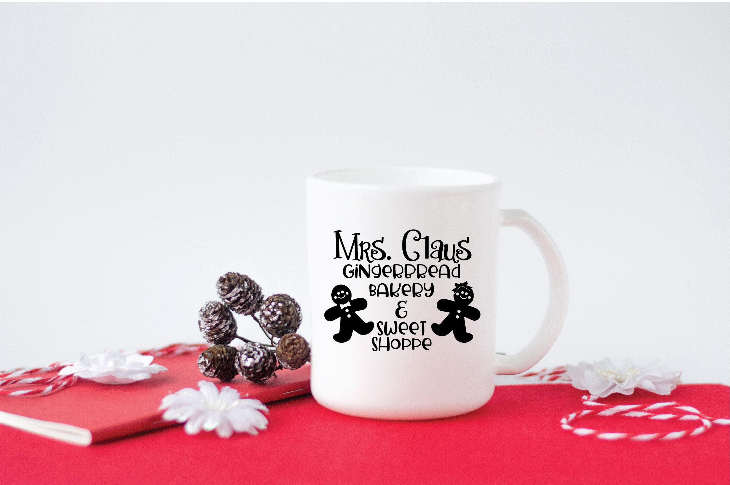 Christmas SVG Cut File - Gingerbread Bakery SVG DXF PNG EPS example image 5