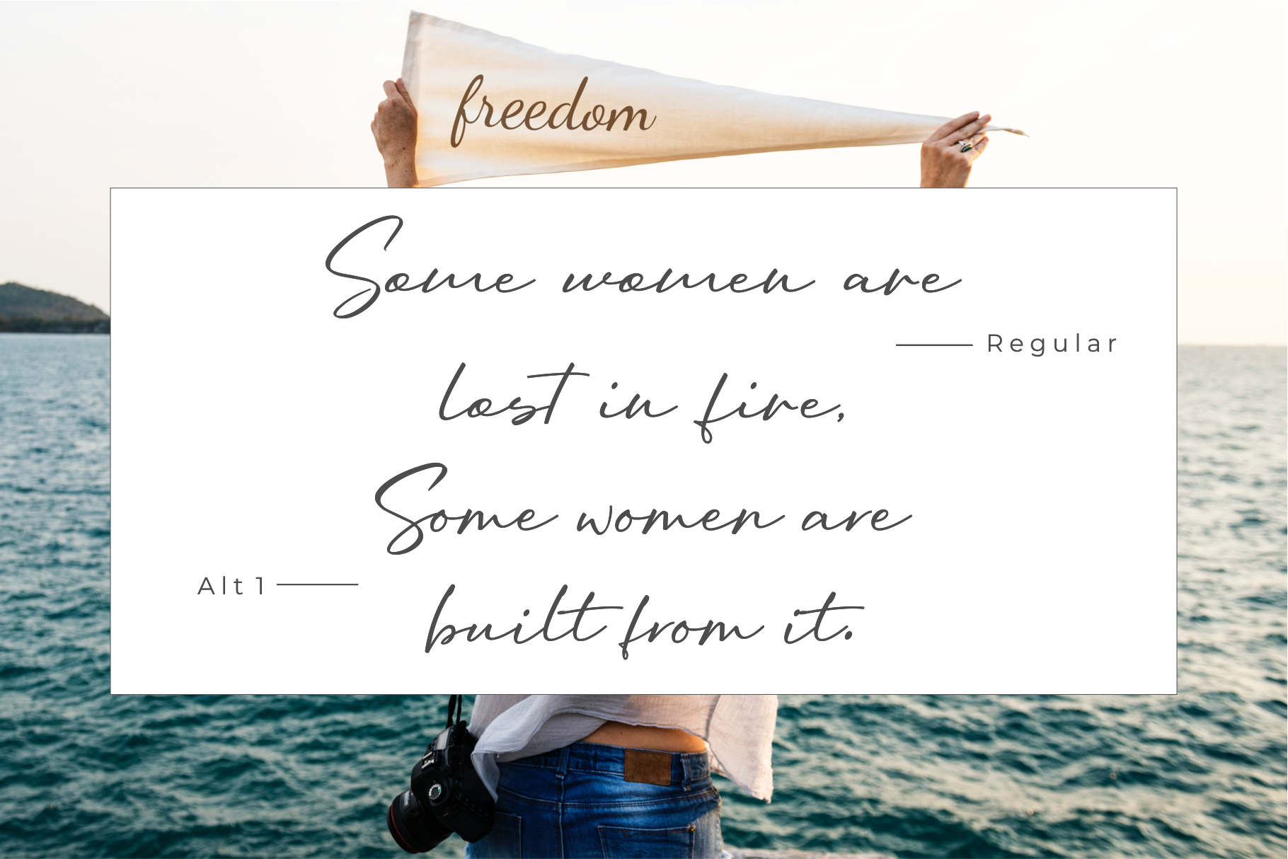Oriflame Script Fonts example image 3