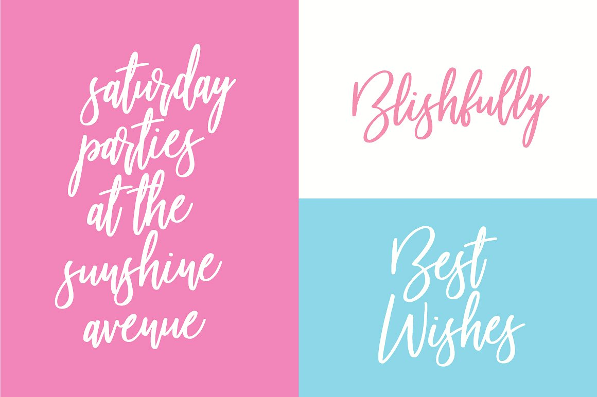 Beautiful Bloom Typeface example image 5