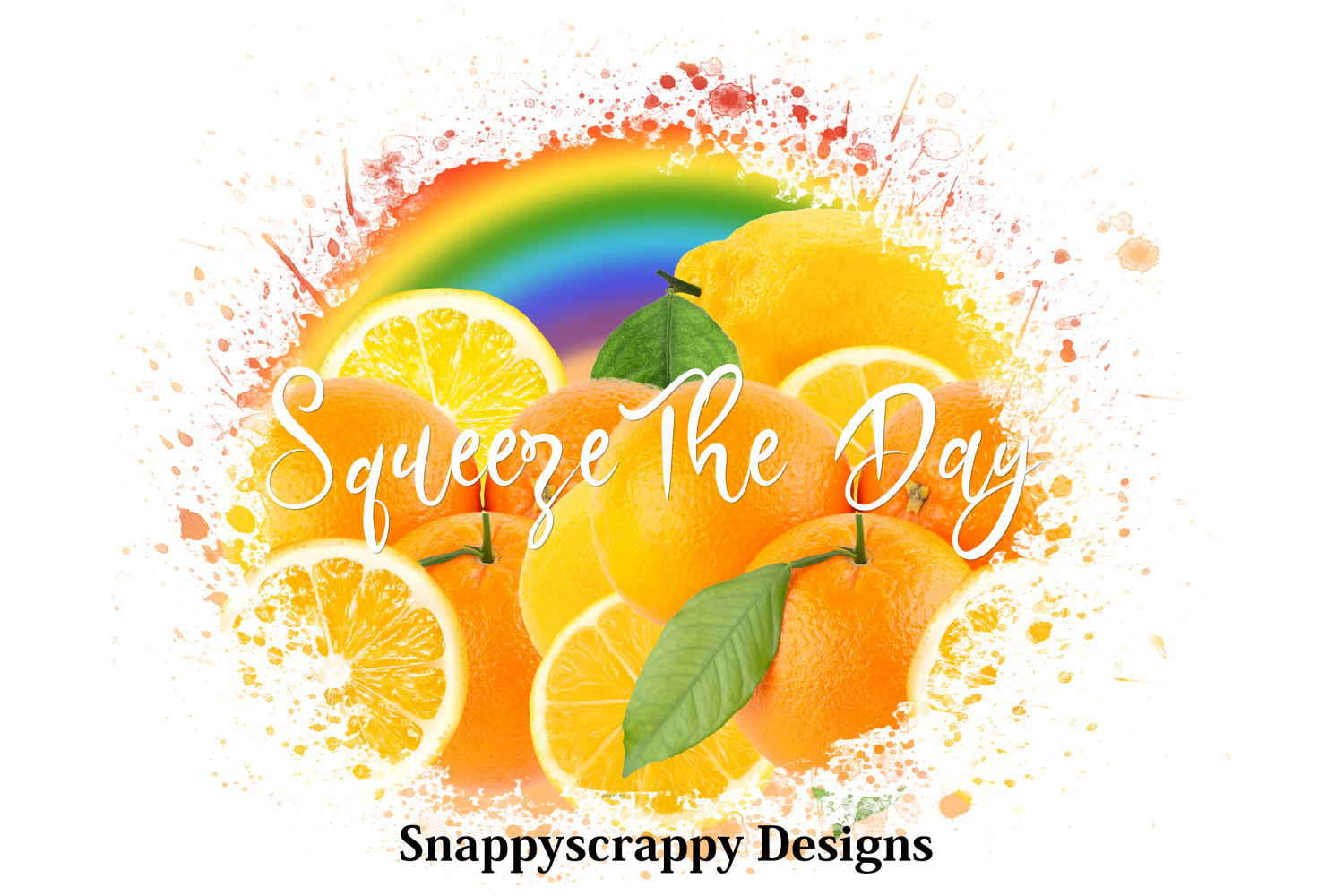 Squeeze the Day Sublimation example image 1