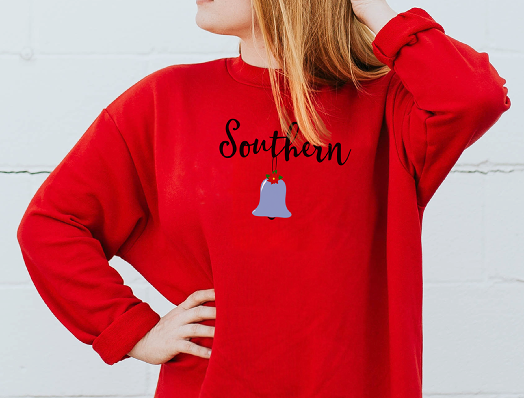 Southern Belle Christmas Style, An SVG for the Southern Gal example image 2