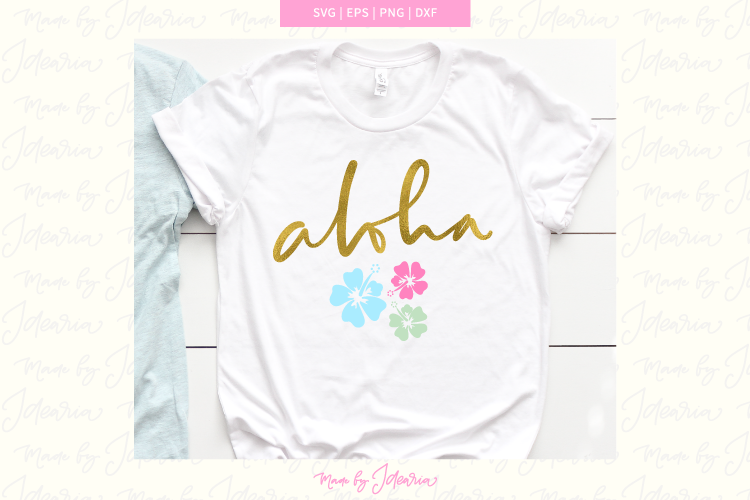 Aloha Svg, summer svg, hibiscus svg, beach svg, svg files example image 1