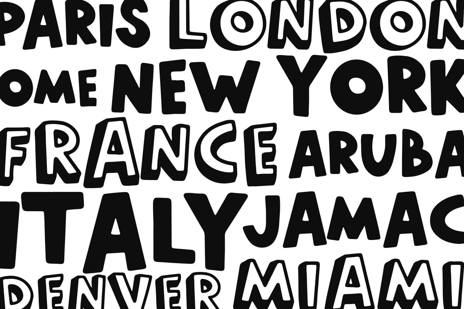 World Traveler - A Quirky Handwritten Font example image 4