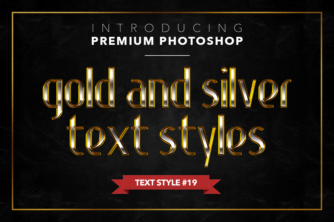 Gold & Silver #1 - 20 Text Styles example image 6
