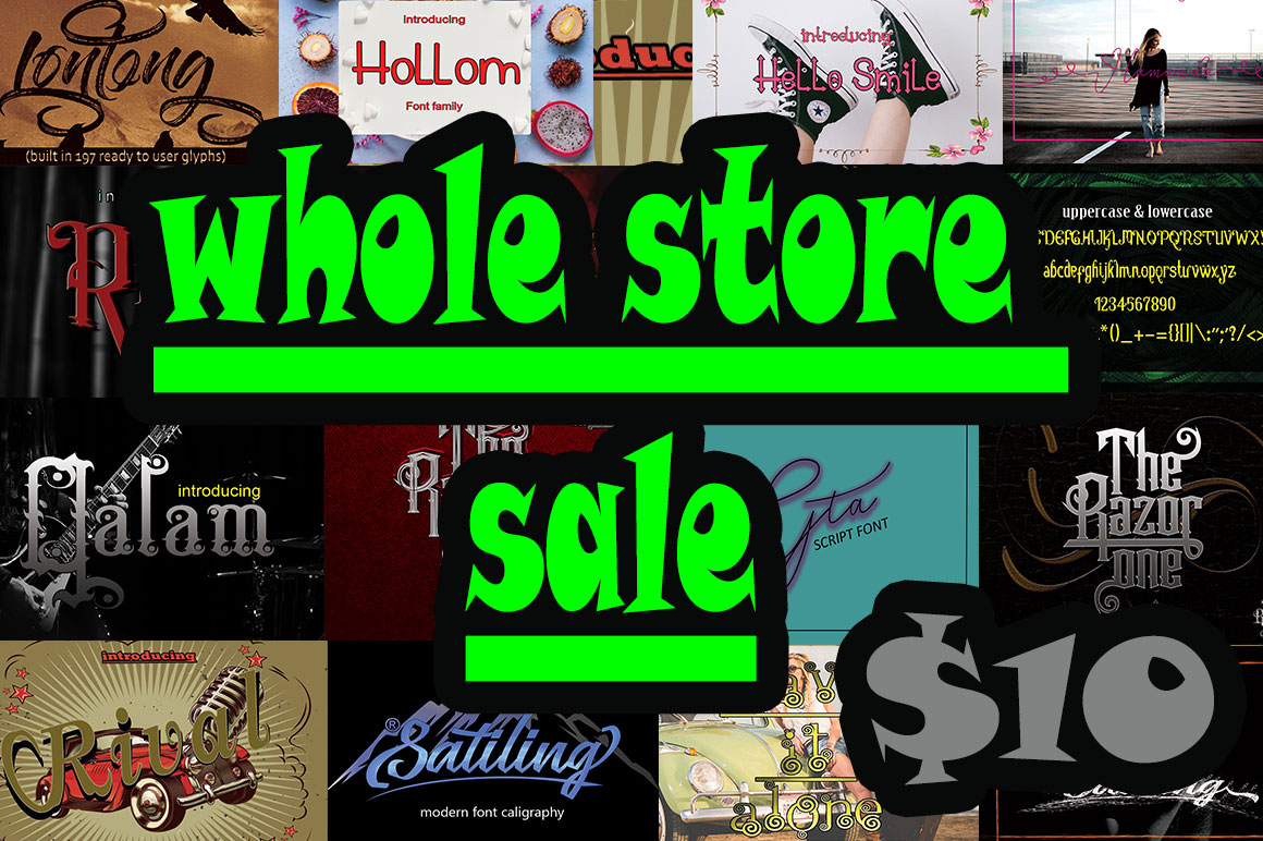 whole store sale example image 1