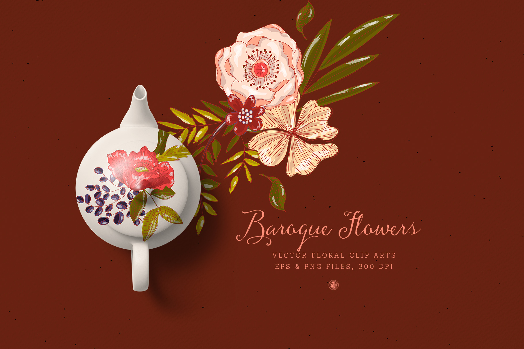 Baroque Flowers example image 3