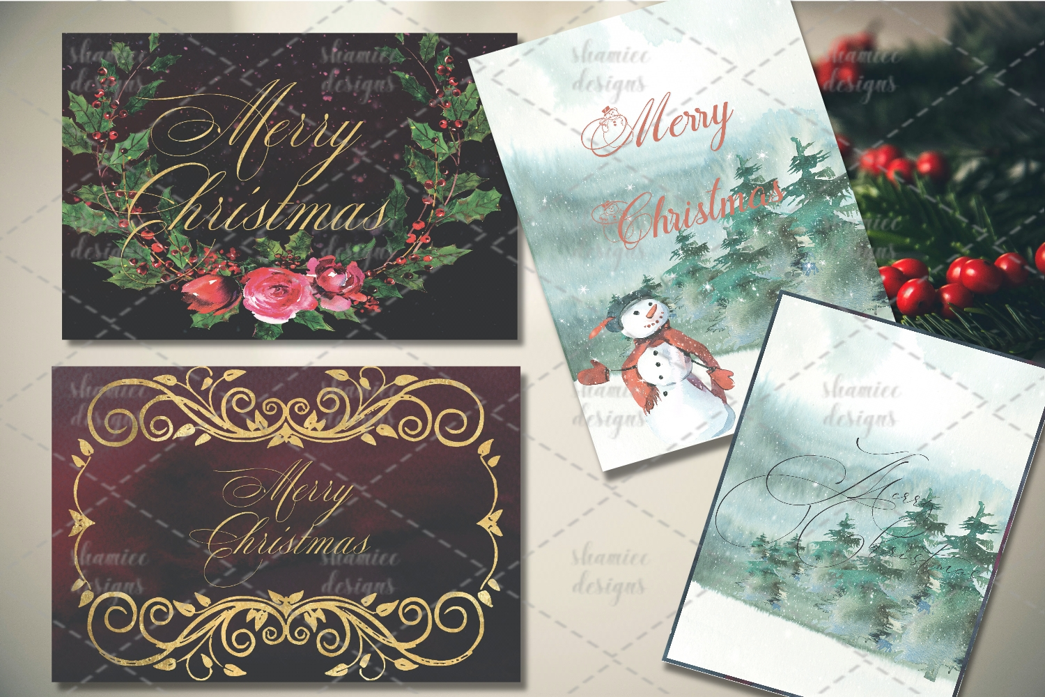 Christmas cards example image 2