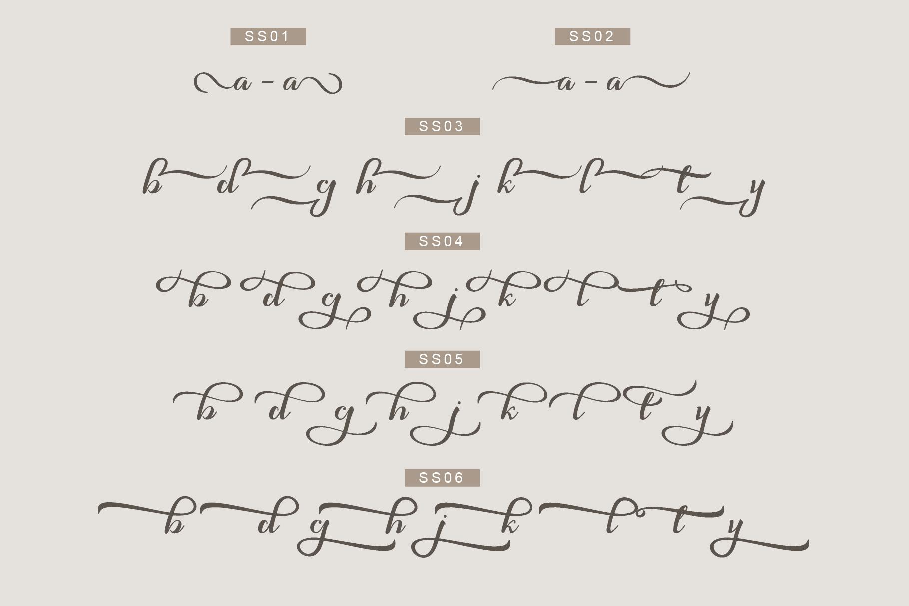 Syakia | New Calligraphy Font example image 6