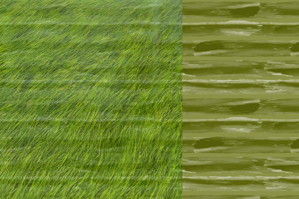 10 Stripes and Strokes Patterns with hand drawn watercolor brush strokes. example image 6